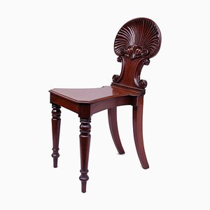 Antique Regency Style Hall Chair from Gillows of Lancaster