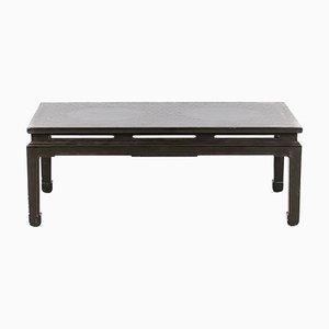 Table Basse en Laque Verte, années 50