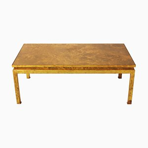 Gilt Iron Coffee Table, 1970s