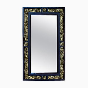 Louis XVI Style Wood and Gilt Plaster Mirror, 1900s