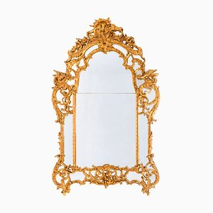 Antique French Regency Style Gilt Mirror