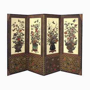 Paravent Art Déco Style Japonais, années 20