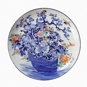 Antique Japanese Porcelain Plate, 1900s