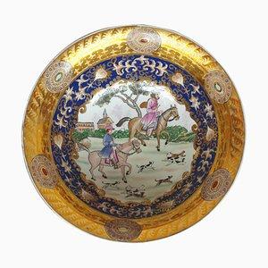 Cuenco antiguo de porcelana, década de 1900