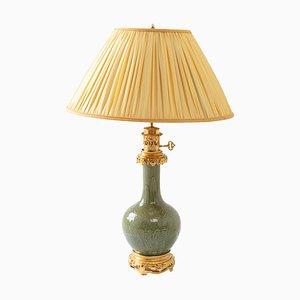 Antike Lampe aus Porzellan, 1880er