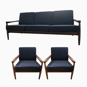 Mid-Century Kolding Living Room Set by Erik Wørts for Ikea, 1960s