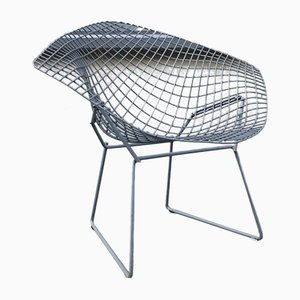 Sedia Diamond vintage di Harry Bertoia per Knoll Inc./Knoll International, anni '60