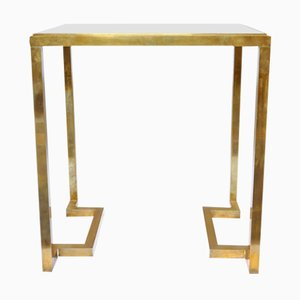 Brass Console Table by Romeo Rega, 1970s