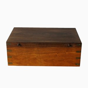 Vintage Danish Rosewood Chest by Ludvig Pontoppidan for Ludvig Pontoppidan, 1940s