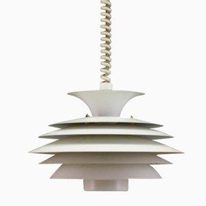 Lámpara colgante danesa vintage, años 70