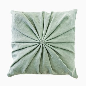 Mint Ami Cushion by Lisa Hilland for Mylhta