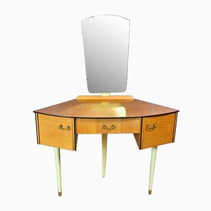 Mid-Century Retro English Teak Dressing Table from Avalon, 1960s