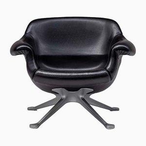 Schwarzer Modell 1110 Sessel von Angelo Mangiarotti für Cassina, 1960er