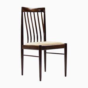 Esszimmerstühle aus Mahagoni von H.W. Klein für Bramin, 1970er, 8er Set