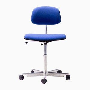 Chaise de Bureau Kevi Bleue par Jørgen Rasmussen pour Fritz Hansen, 1990s