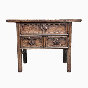 19th Century Chinese Elm Dresser