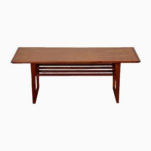 Table Basse à 2 Niveaux Vintage en Teck, 1960s