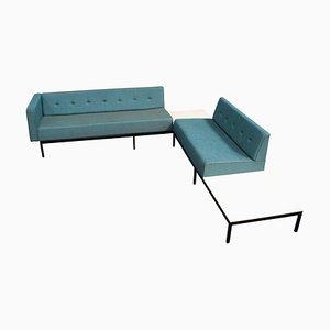Canapé d'Angle Série 070 avec Tables d'Appoint par Kho Liang Ie pour Artifort, 1960s
