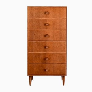 Vintage Oak Chest of Drawers from Meredew, 1960s