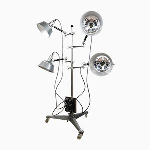Vintage German Studio Floor Lamp from K. Weinert Berlin 36, 1950s