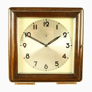 Vintage Art Deco ATO Magnetic Pendulum Wall Clock from Junghans