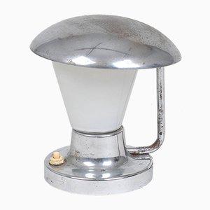 Lámpara de mesa industrial de Josef Hurka para Napako, años 40