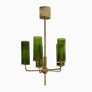 Lámpara de araña Sonata T-434/5 de 5 brazos de Hans-Agne Jakobsson para Markaryd, años 60