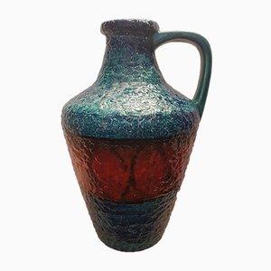 Westdeutsche Mid-Century Lava Vase von BAY für Bayer, 1960er