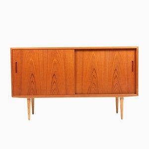 Dänisches Sideboard aus Teak & Eiche von Poul Hundevad für Hundevad & Co., 1960er