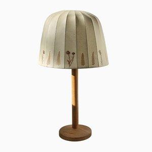 Lámpara de mesa de pino de Hans-Agne Jakobsson para Markaryd, años 60