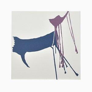 Scandinavian Kitanoumi Toshimitsu, Sumo 4 Screen Print by Anne Marie Ploug, 2000s