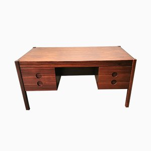 Danish Rosewood Desk by Christian Linneberg, 1960s