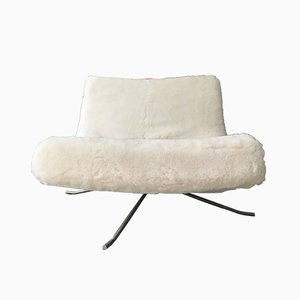 Sheepskin Lounge Chair by Christian Werner for Ligne Roset, 1990s