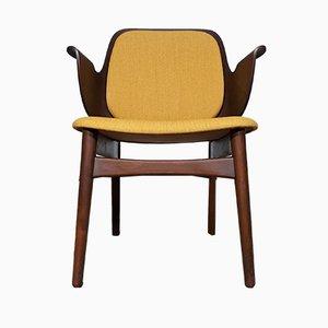 Vintage Nr. 163 Armlehnstuhl von Hans Olsen für Bramin, 1950er
