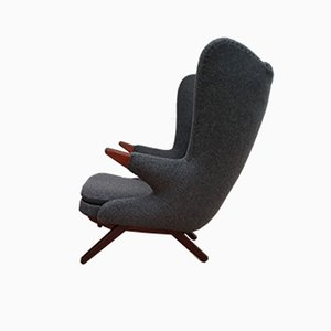 Teddy Bear Teak & Wool Lounge Chair by Svend Skipper for Skipper, 1960s