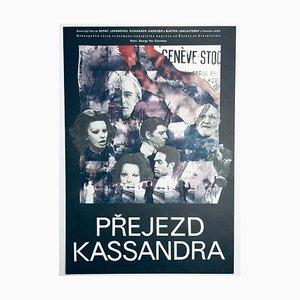 Cassandra Crossing Movie Poster by Eva Hlaváčková, 1978