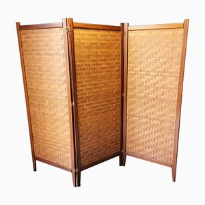 Scandinavian Teak Screen, 1960s