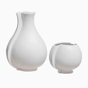 Vases Surrea par Wilhelm Kåge pour Gustavsberg, 1930s, Set de 2