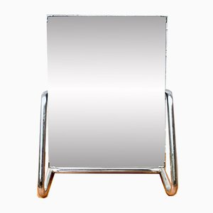 Vintage Model D167 Chromed Table Mirror, 1950s