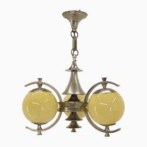 Lámpara de araña Art Déco, años 20