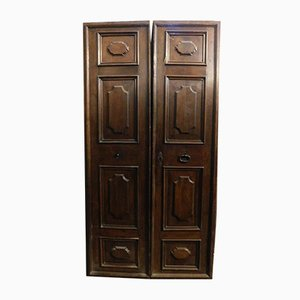 18th Century Walnut Entrance Door