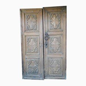Barocke Eingangstür aus dem 17. Jahrhundert, 1690er