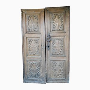 Baroque 17th-Century Entrance Door, 1690s