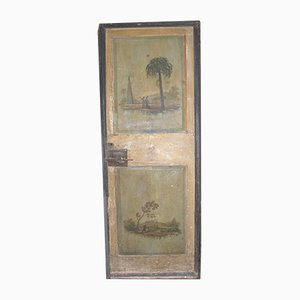 Antique Italian Lacquered Door