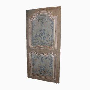 Antike lackierte Tür