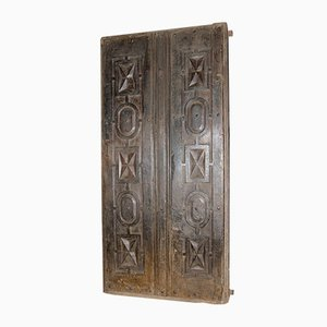 Antique Carved Double Door