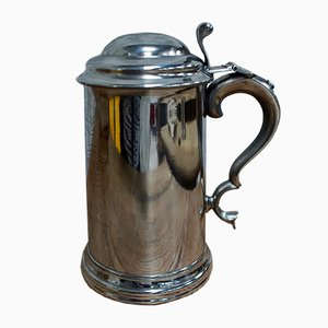College Scratch Fours Trophy Tankard by James Dixon & Sons, 1866