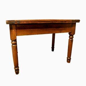 19th-Century Italian Walnut Table