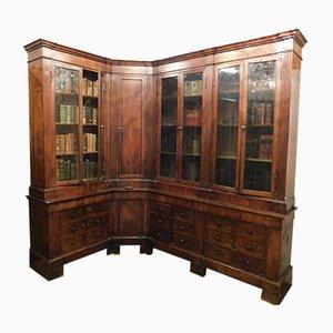Mueble antiguo de farmacia grande, siglo XIX