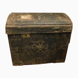 Antique Lacquered Trunk